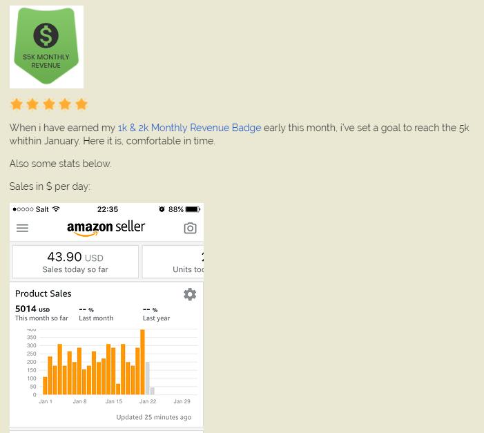amazing selling machine members earnings feedback