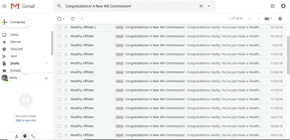 affiliate commission notifications