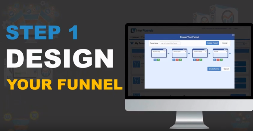 interfunnels how to create sales funnel 1