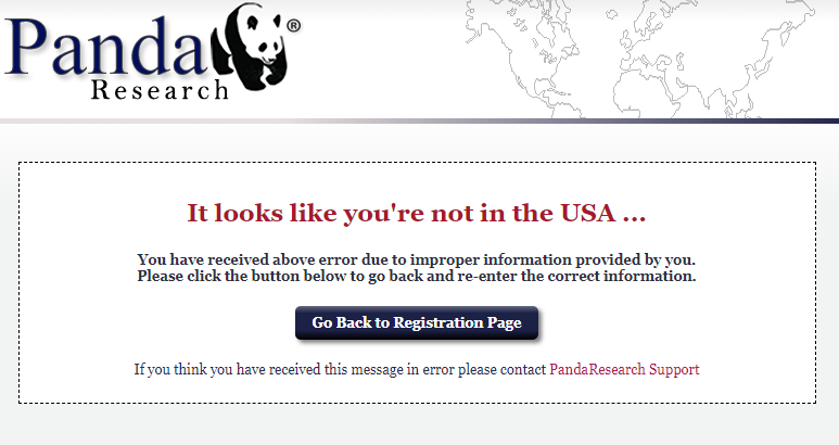 panda research available in the us