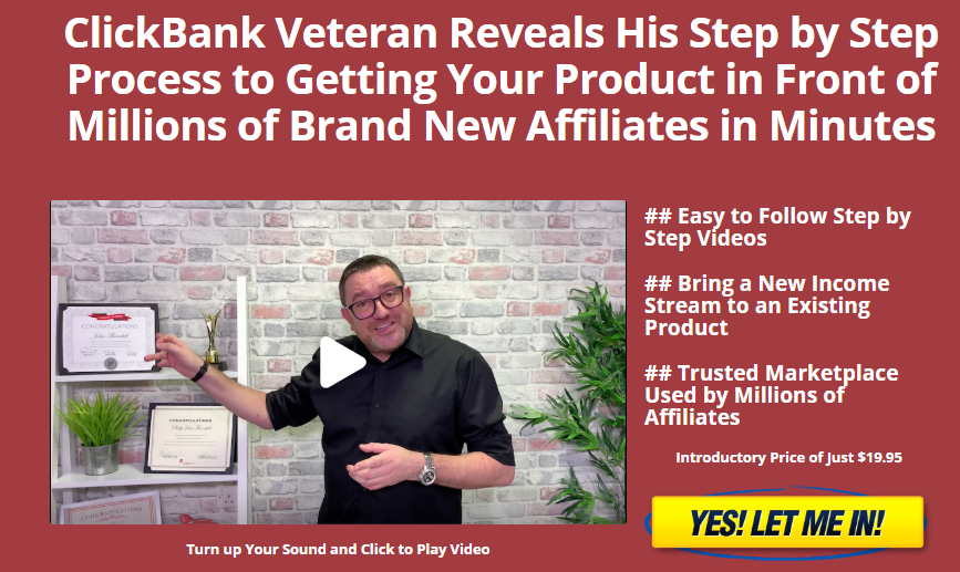 ClickBank Superstar website