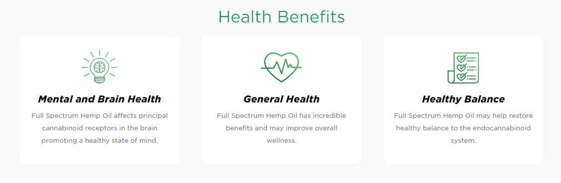 health benefits of cbd hempworx