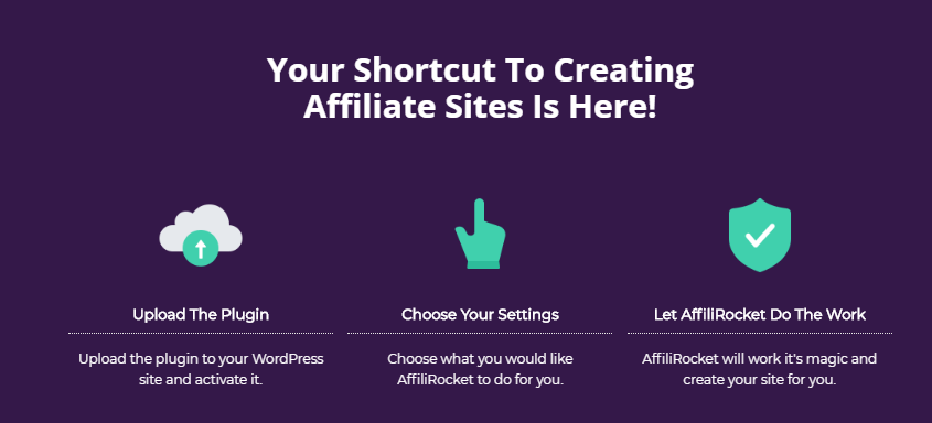 how affilirocket works