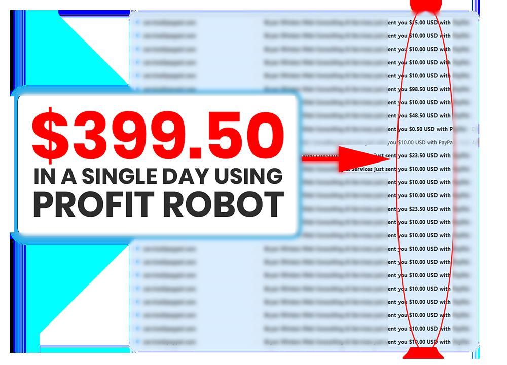 profit robot fake income