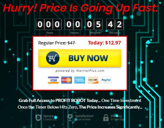 profit robot price
