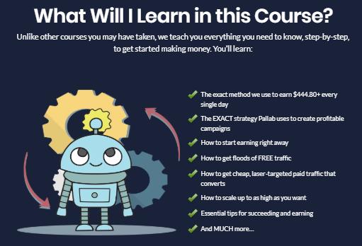 profit robot training