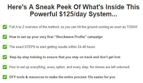 shockwave profits features