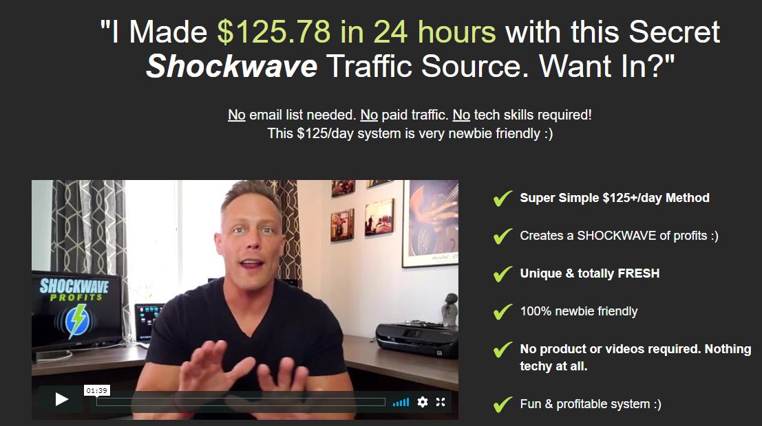 shockwave profits website