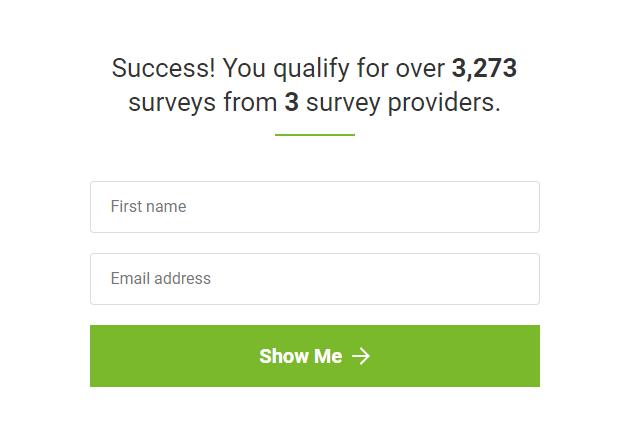 survey freedom scam