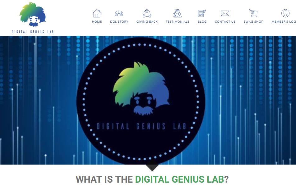 digital genius lab website
