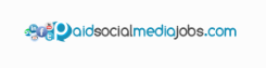 paid social media jobs logo