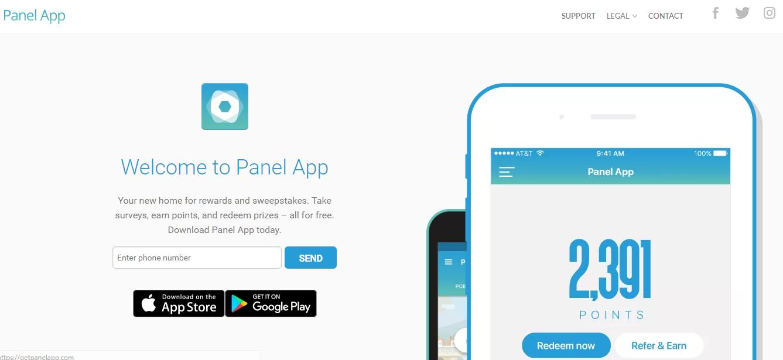 panel app website