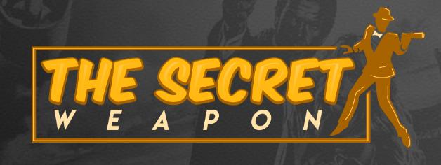 the secret weapon logo