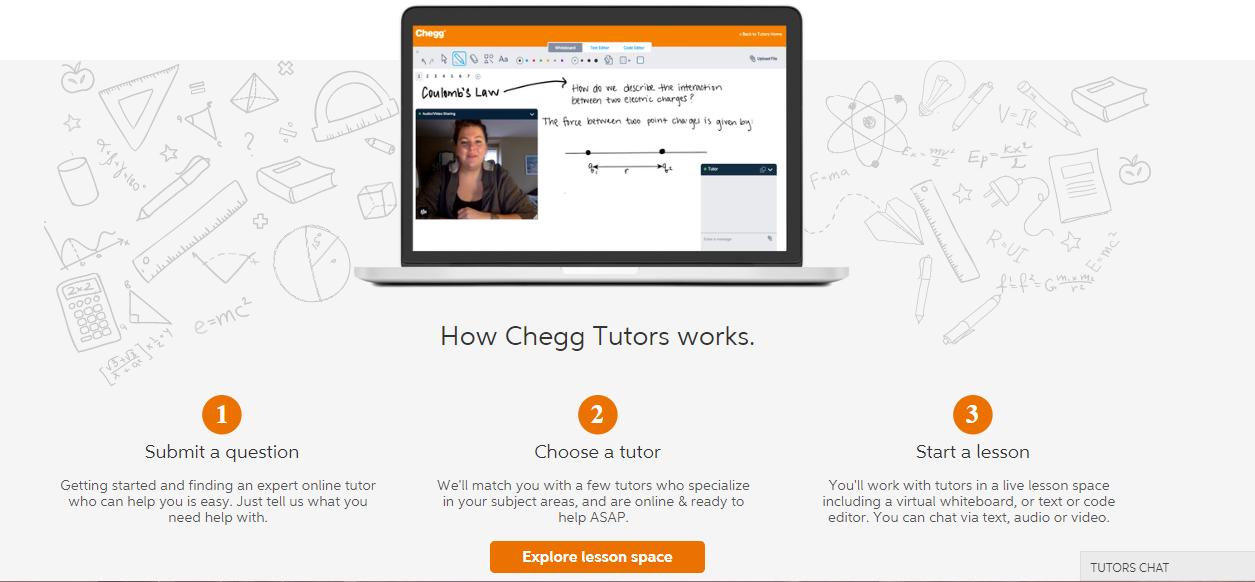 how chegg tutors works