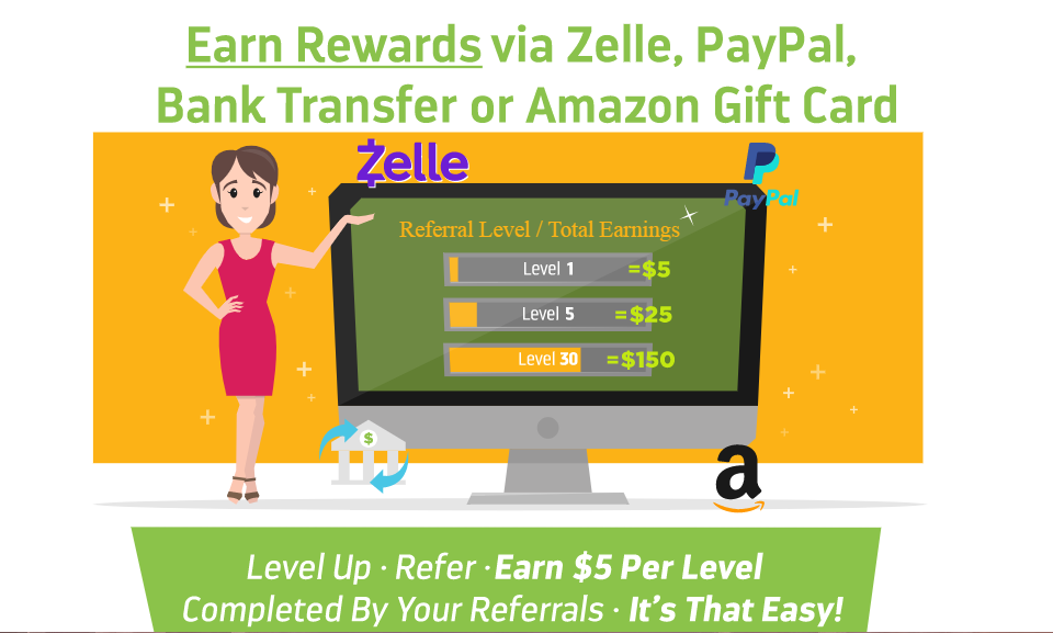 how to earn with level rewards