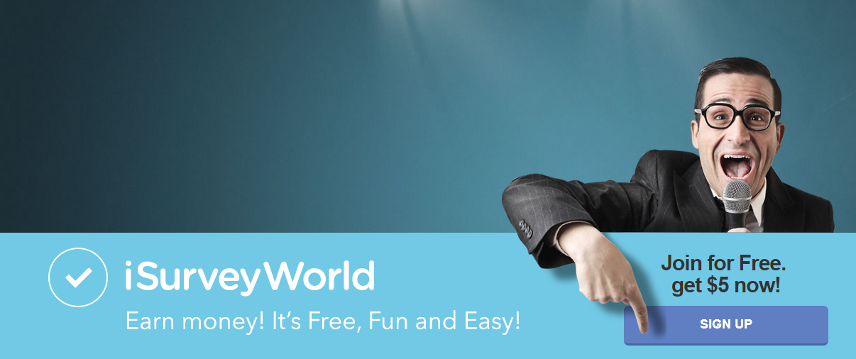 how to sign up with isurveyworld