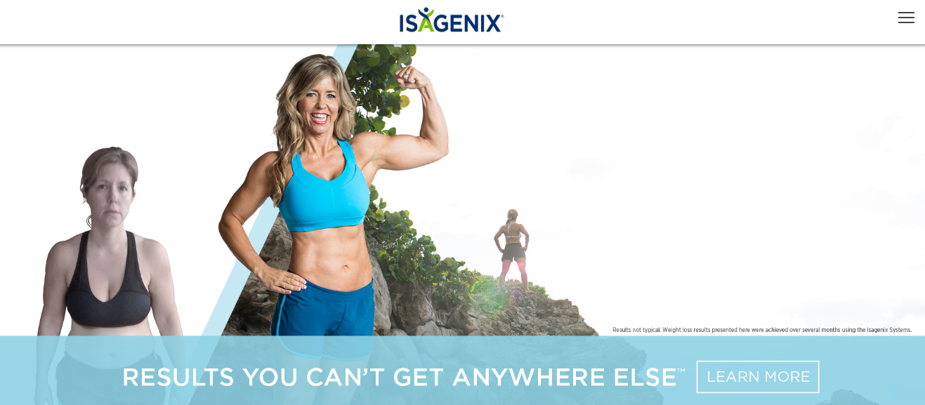 isagenix website