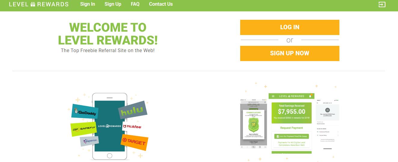 level rewards website