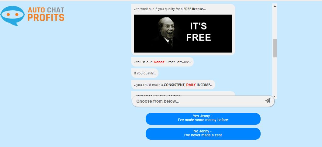 auto chat profits website