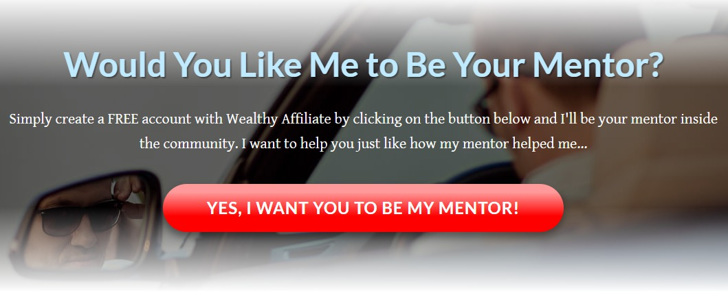 wealthy affiliate offering mentorship