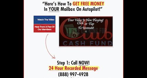 clubcashfund.com-website