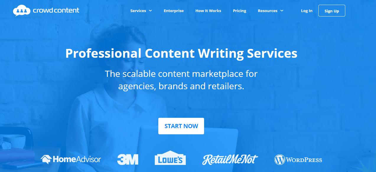 crowdcontent website