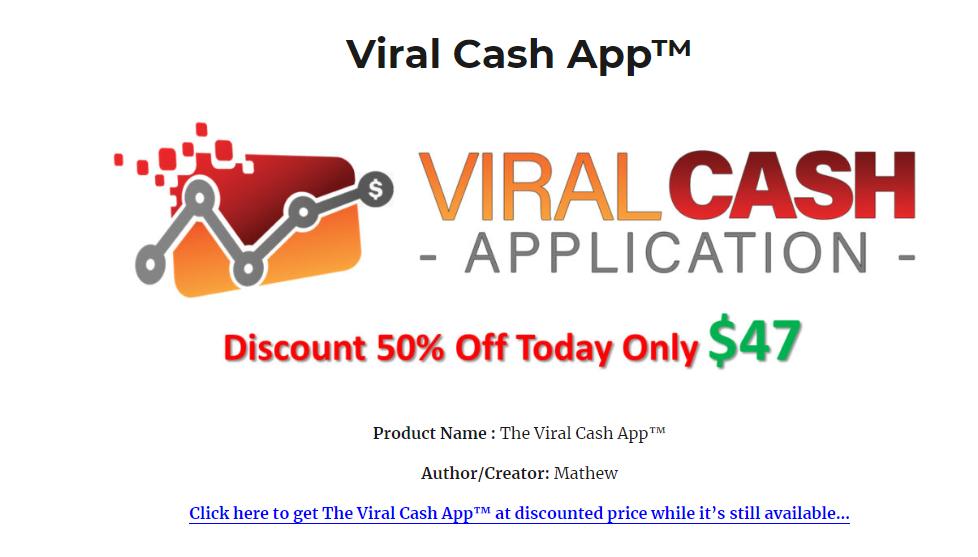 viral cash app website