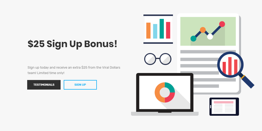 viral dollars website