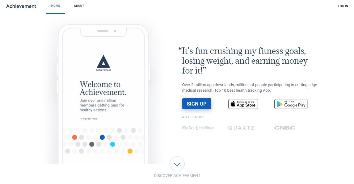 achievement app website