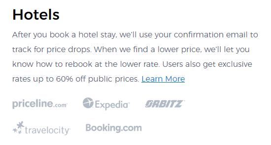 earny hotel brand partners