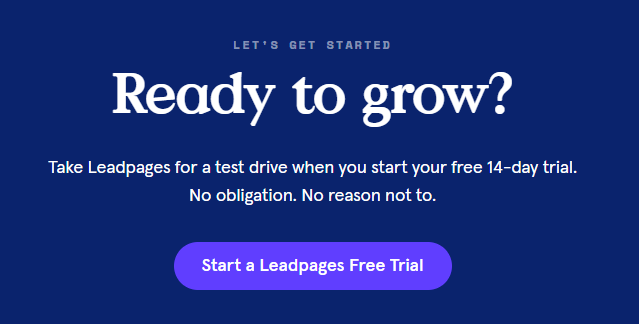 leadpages free trial