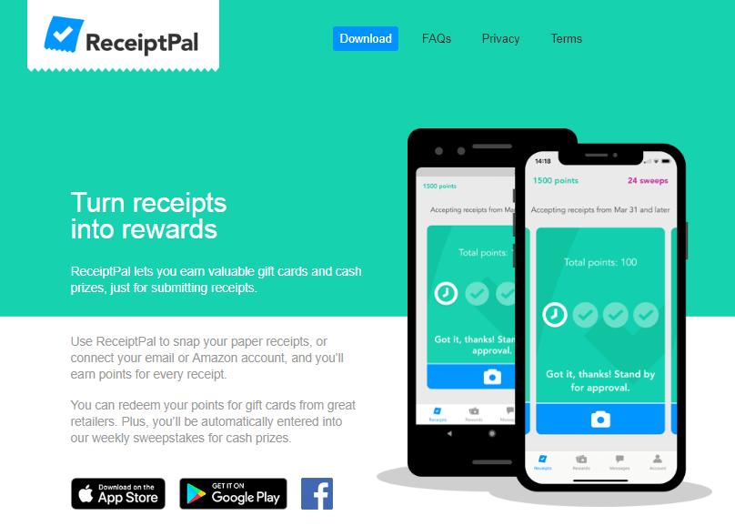 receiptpal website