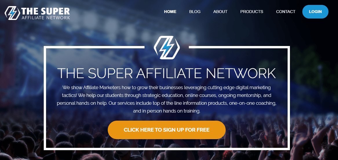 the super affiliate network website