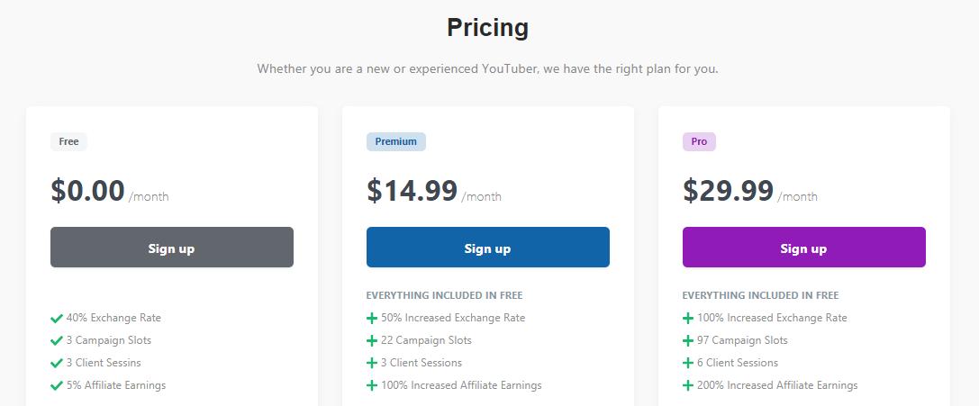 ytmonster pricing