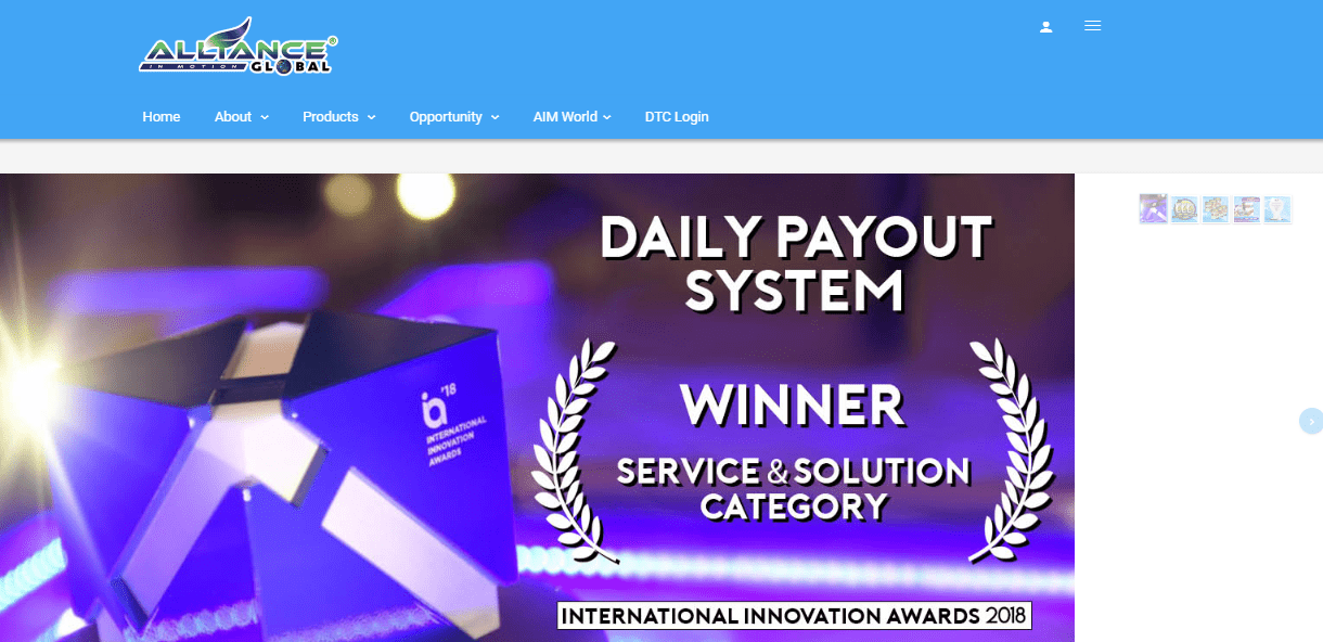 alliance global website