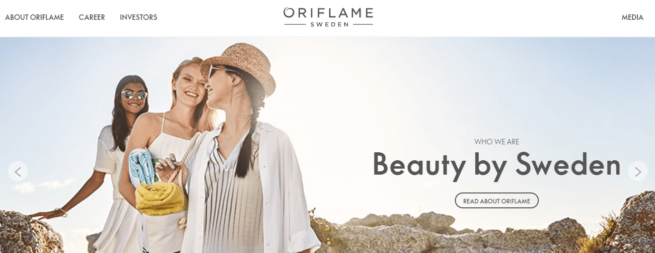 oriflame website