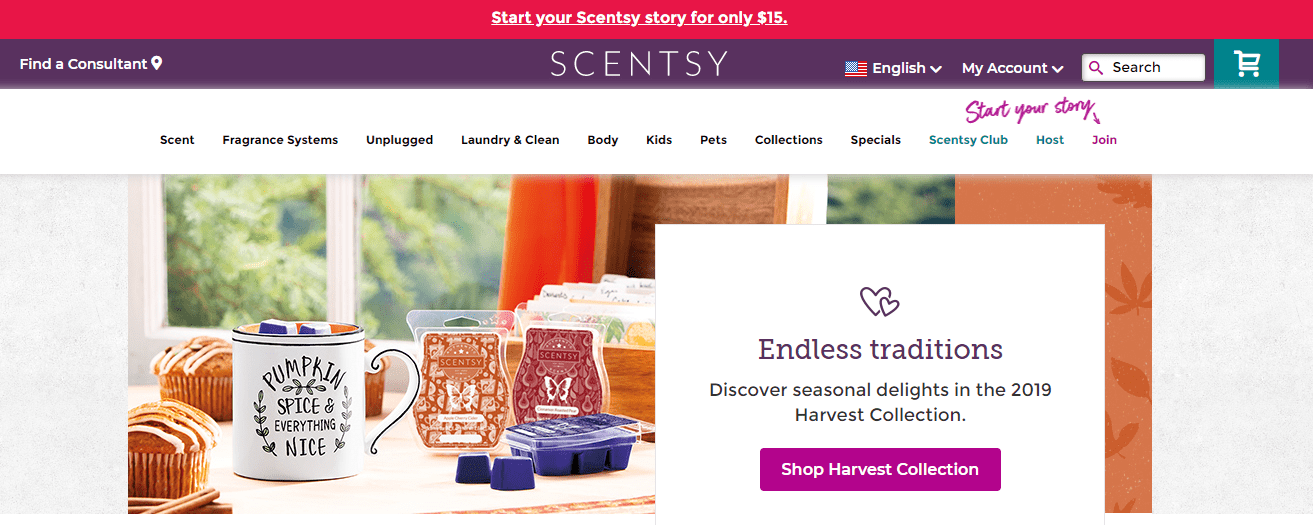 scentsy website