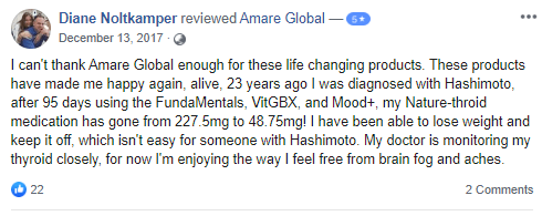 amare gloabl product review