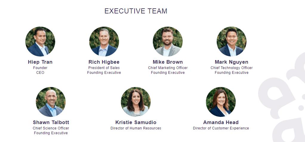 amare global executive team shawn talbott