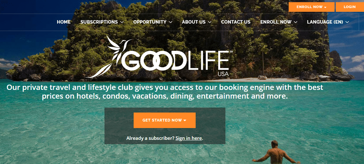 goodlife usa website