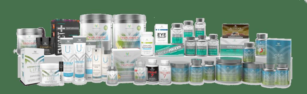 mannatech product line
