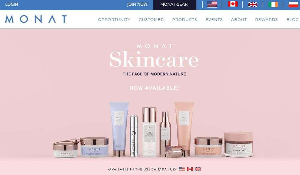 monat global website