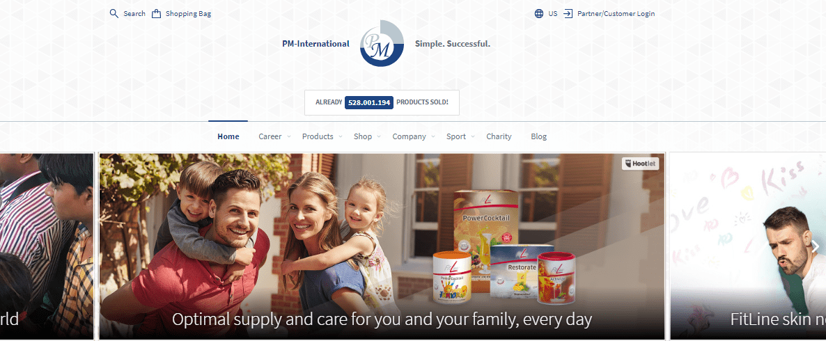 pm international website