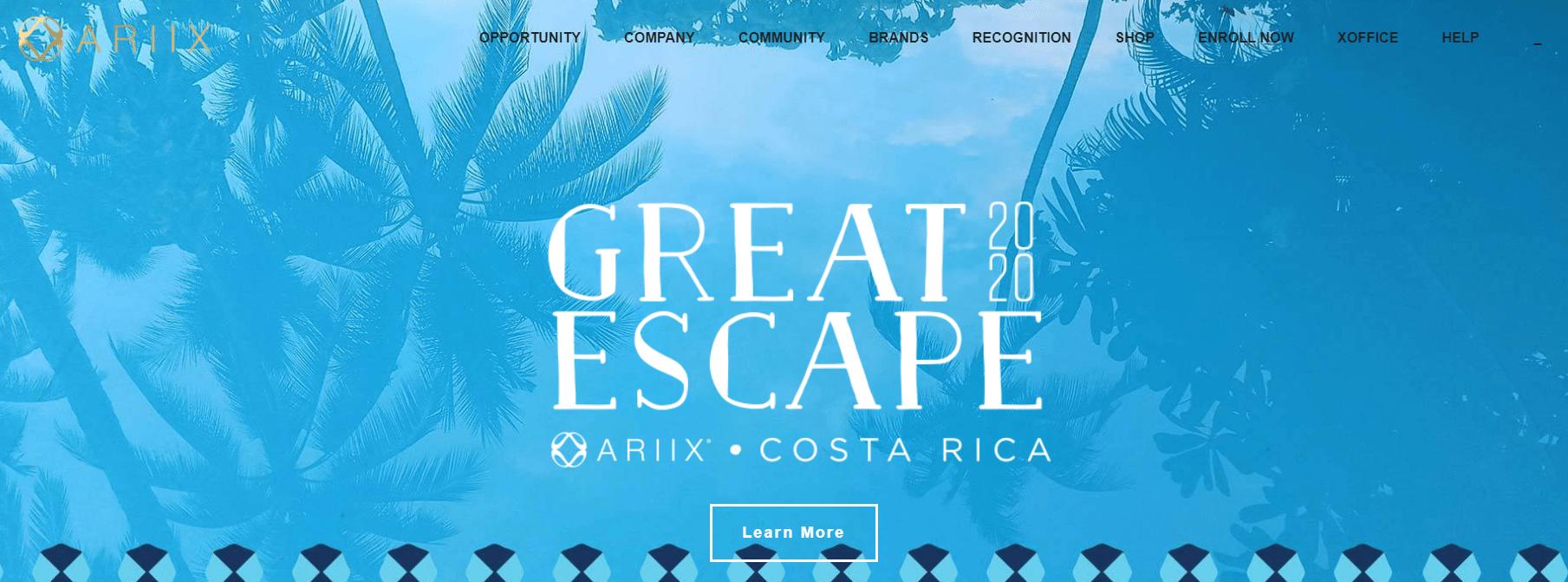 ariix website