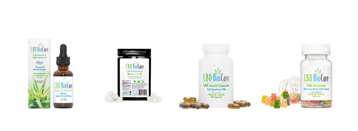 cbd biocare products