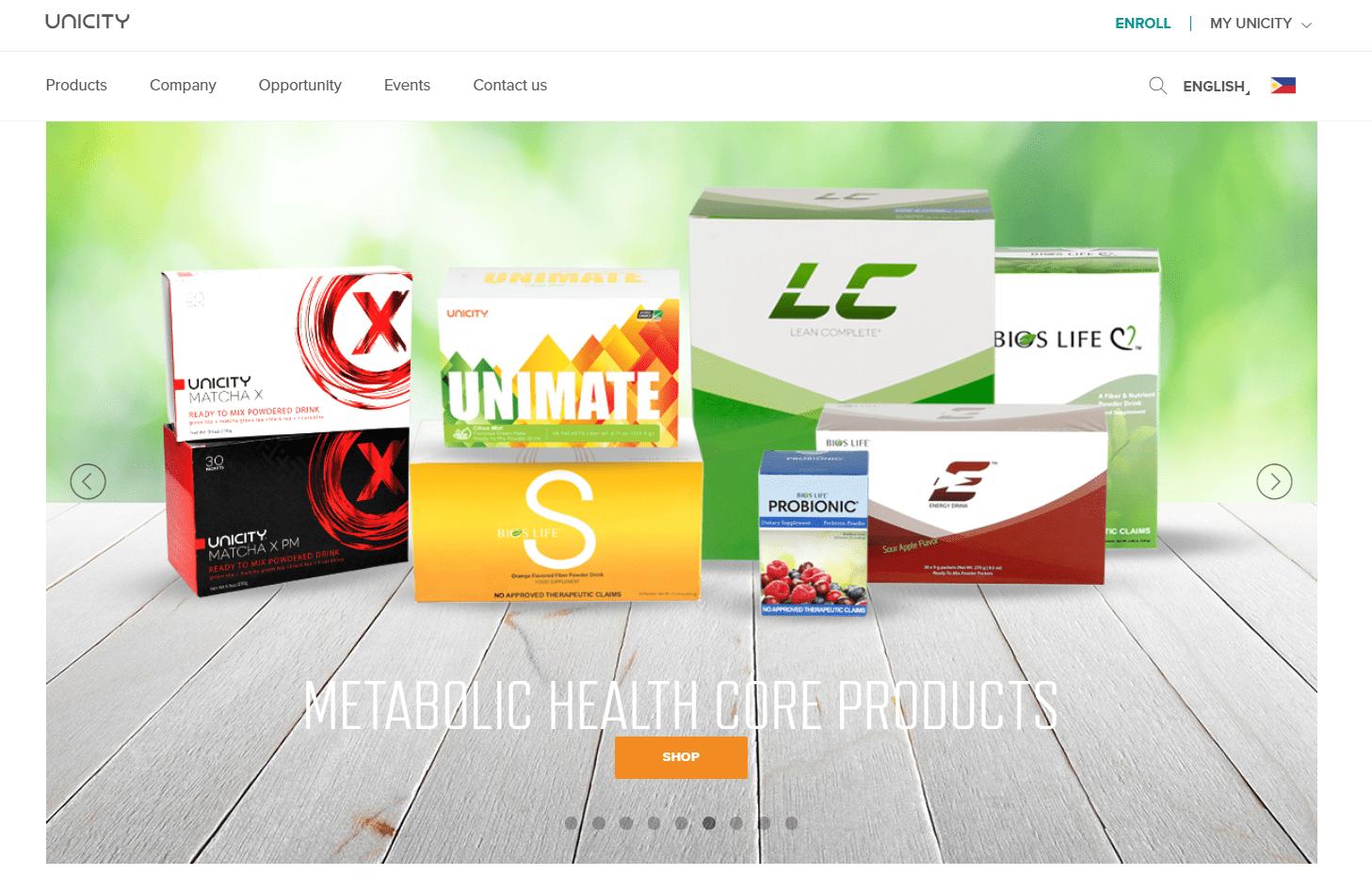 unicity website