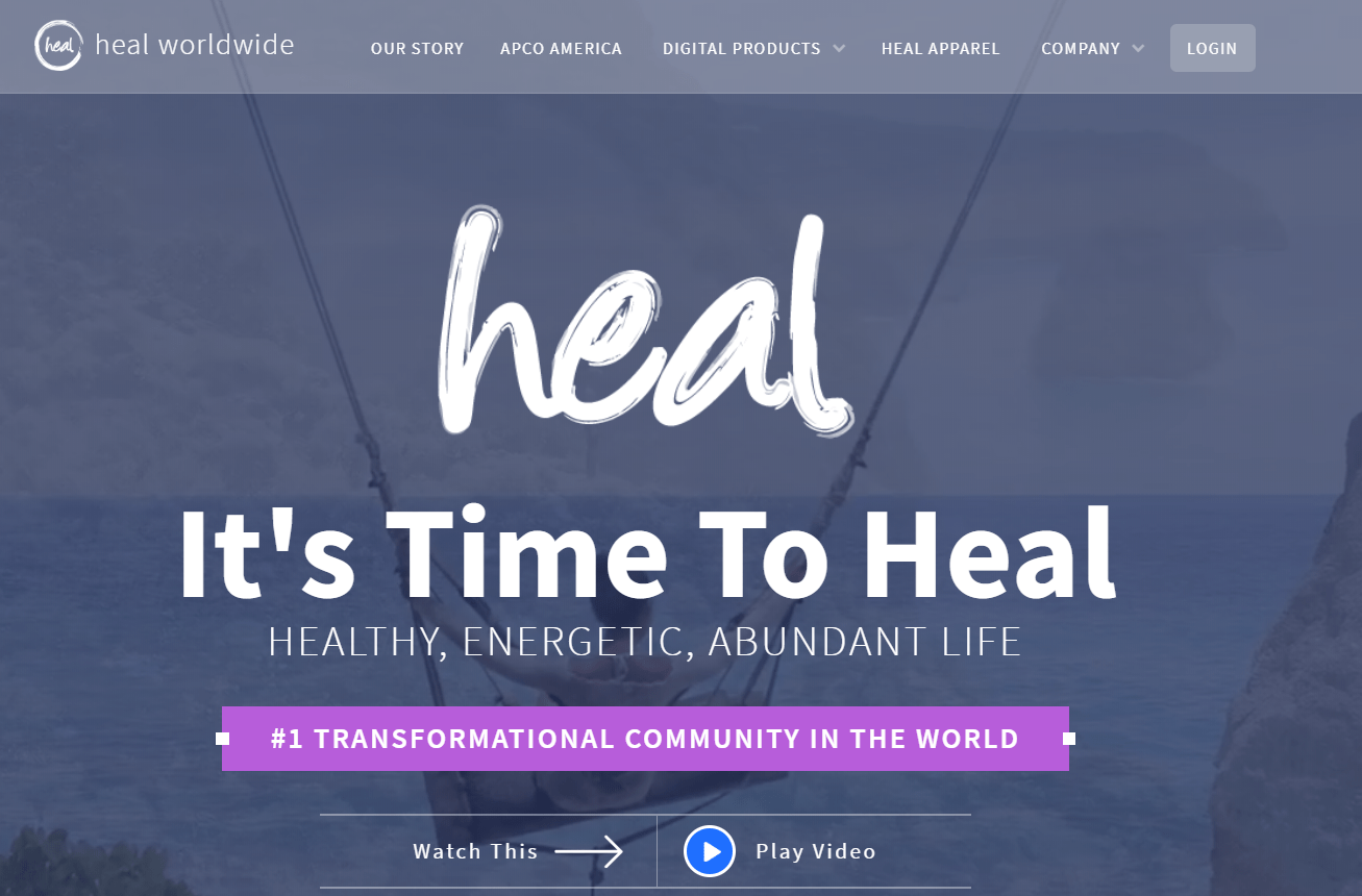 heal worldwide website