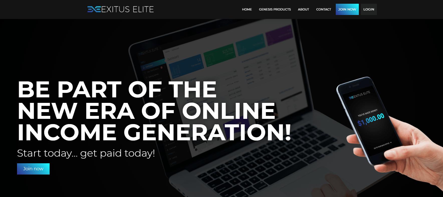 exitus elite website