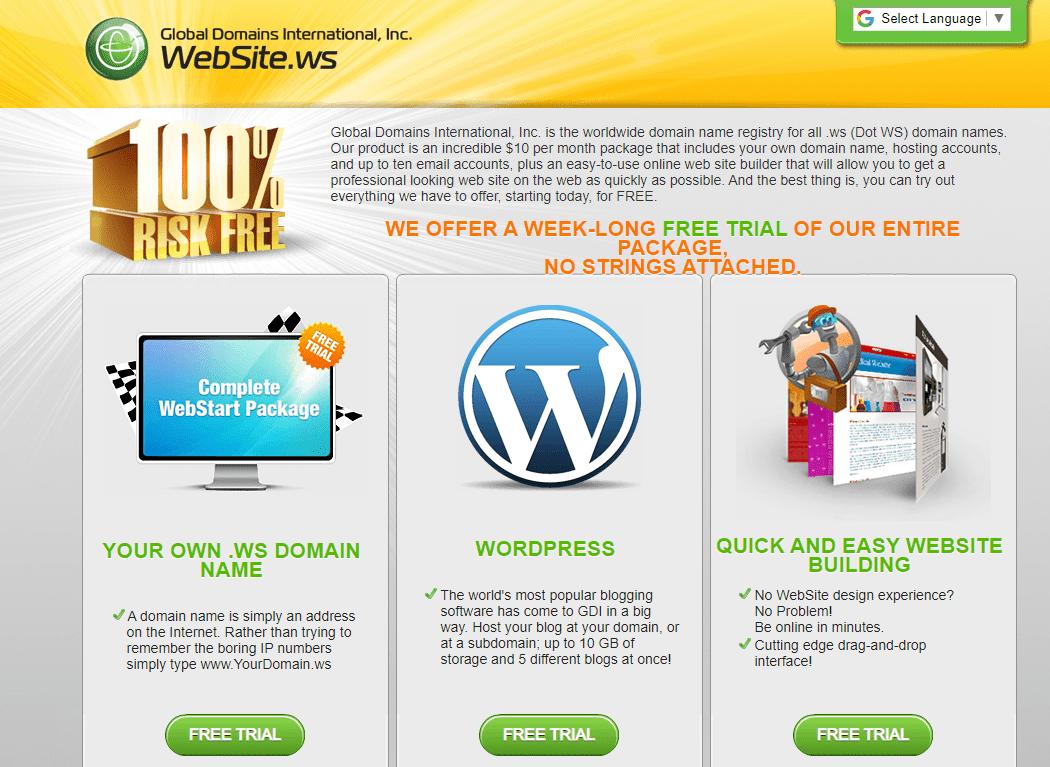 global domain international website