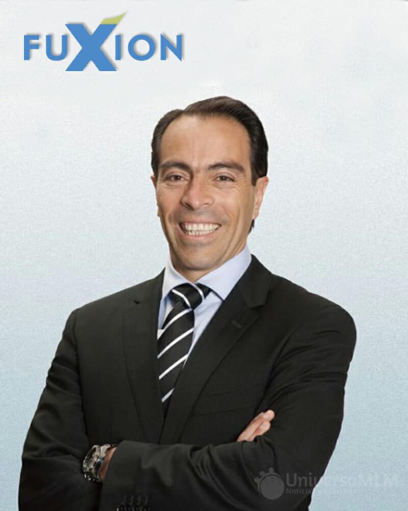 founder of fuxion Alvaro Zuñiga